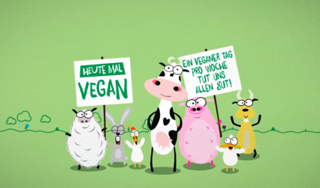 This world is ours! One vegan day a week for you and me!