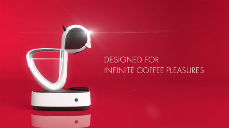 Designed for infinite coffee pleasures